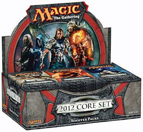 Magic the Gathering Core Set 2012 Booster Display box (36 booster packs)