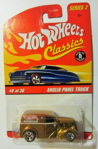 Anglia Panel Truck (Gold) 2005 Hot Wheels Classics 1:64 Scale Series 2 Die Cast Vehicle - 1