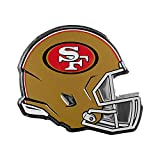 San Francisco 49ers NFL Sports Team Logo Car Truck SUV Motorcycle Trunk 3D Helmet Die-Cut Color Premium High Quality Aluminum Emblem