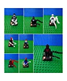 Spiderman Custom minifig retro 8/pc Blocks Carnage, Venom, Peter Parker New
