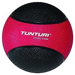 Tunturi Medicine Ball, 3Kg (Red/Black)