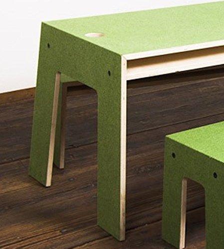 Perludi Oskar at Work – grün – Tisch jetzt bestellen