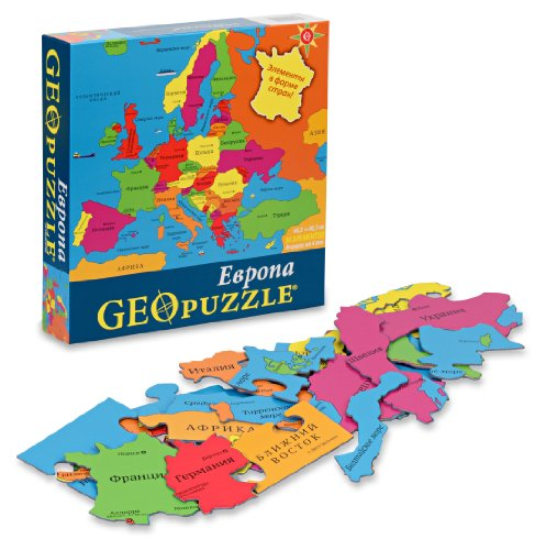 GeoPuzzle Europe in Russian