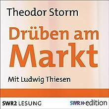 Drüben am Markt Hörbuch von Theodor Storm Gesprochen von: Ludwig Thiesen