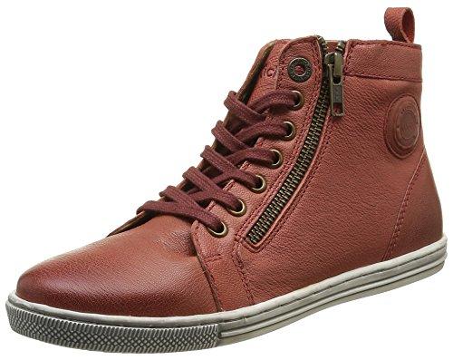 kickers-santal-sneakers-hautes-femme-rouge-40-eu
