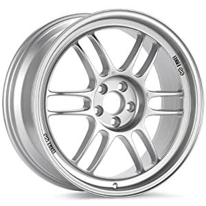 18x8.5 Enkei RPF1 (F1 Silver) Wheels/Rims 5x114.3 (3798856540SP)