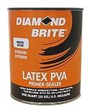 Diamond Brite Paint 40100 1-Quart Interior/Exterior Latex PVA Primer Sealer