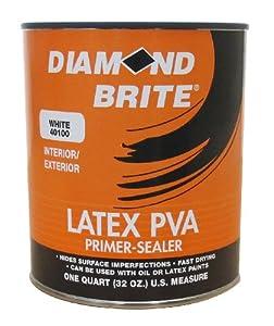 Diamond brite paint 40100 1 quart interior for Exterior latex primer
