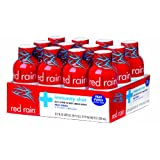 Red Rain Immunity Energy Shot, Fruit Punch flavor, 2-Ounce (Pack of 12)