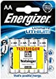 Energizer AA Ultimate Lithium Batteries 4 Pack