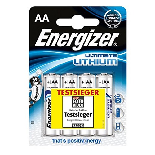 Energizer Batterien Ultimate Lithium digital/639155 Inh.4