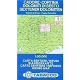 echange, troc TABACCO - CADORE/CORTINA/DOLOMITI DI SESTO 1  1/50.000