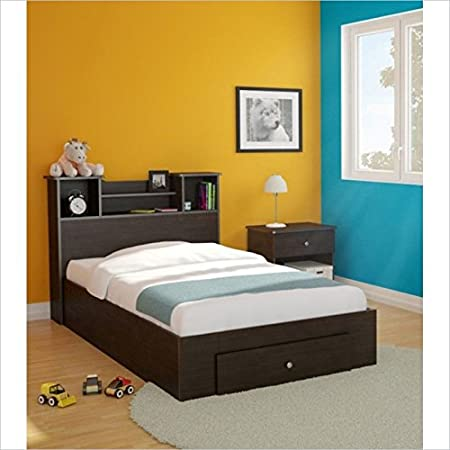 Nexera Pocono 3 Piece Twin Bedroom Set in Espresso