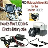 Motorcycle Mount Kit for TomTom Rider Pro