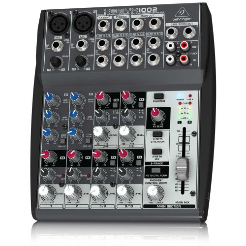 Behringer Xenyx 1002 10-Channel Mixer