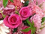 誕生日・ギフト・花束 ピンクグラデーションカラーのピンクバラ・ガーベラの花束 フレーバーハウス