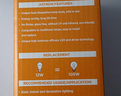 12W LED Bulb B22 White