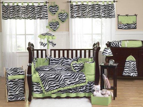 Imagen de Bebés y Niños Lime Funky Zebra Lavandería ropa sucia