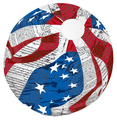 POOLMASTER 81251 Flag Beach Ball, 24-Inch