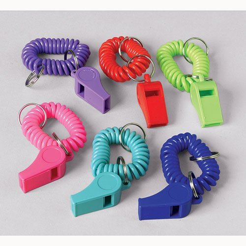Bracelet Whistle Keychains
