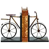 """Deco 79 Metal Bookend Pair, 8 by 6"""""""