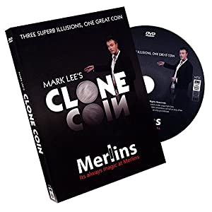 MMS Clone Coin Old English Penny Mark Lee Trick Kit with DVD