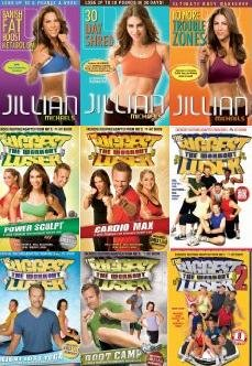 Jilian Michaels Collection -- 9 Workout Dvds -- 30 Day Shred/No More Trouble Zones/Banish Fat Boost Metabolism/Biggest Loser Workout Volume 1/Biggest Loser Workout Volume 2/Biggest Loser Cardio Maxx/Biggest Loser Boot Camp/Biggest Loser Power Sculpt/Bigge