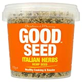 Good Seed Shelled Hemp Seeds Italian Herbs (170g) 良い種殻大麻の種子イタリアンハーブ( 170グラム)