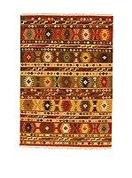 Kilim Carpets by Jalal Alfombra Kilim Sivas 3 (Rojo/Multicolor)