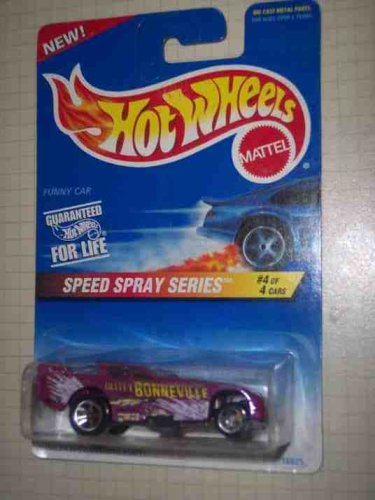 Speed Spray Series #4 Funny Car #552 Collectible Collector Car Mattel Hot Wheels 1:64 Scale - 1