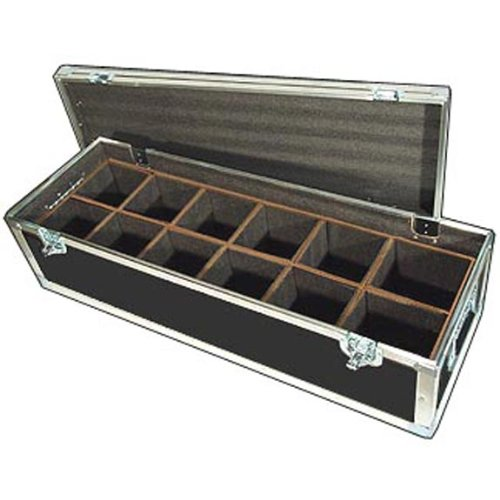"Lighting Led Par Lights Ata Case W/12 Compartments - Interior Dimensions Per Cube Compartment 6"" X 6"" X 10"" High"