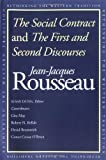 The Social Contract and the First and Second Discourses: And, the First and Second Discourses (0300091419) by Rousseau, Jean-Jacques