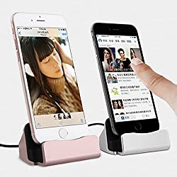 WireBeat iPhone Charger Docking Station Cradle Charging Sync Dock for Apple iPhone 6, 6Plus,5,5S,5C