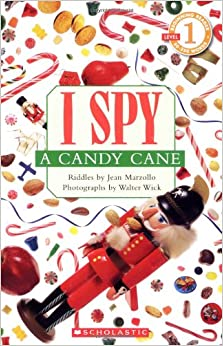 Spy a candy cane scholastic reader level 1 paperback october