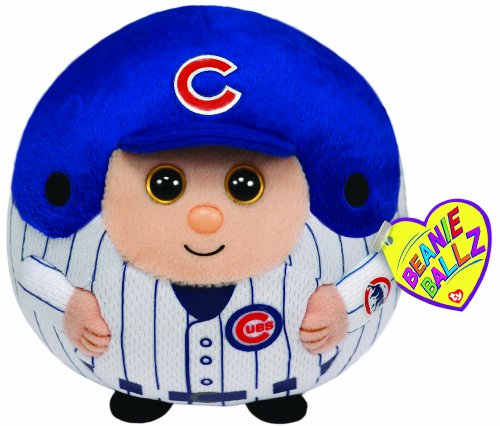 Ty Beanie Ballz Mlb Chicago Cubs Medium Plush front-630842
