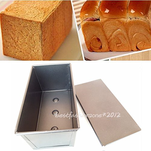 Rectangle Box Pastry Toast Bread Loaf Tin Cake Mold Mould Bakeware Kitchen Tool (Insulated Cake Boxes compare prices)