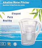 Alkaline 2 Liter Water Pitcher, Instant Mineral Alkaline Water Reviews