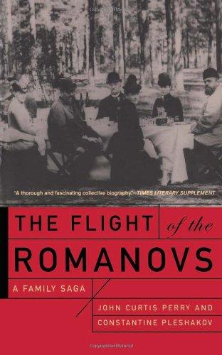 The Flight Of The Romanovs A Family Saga