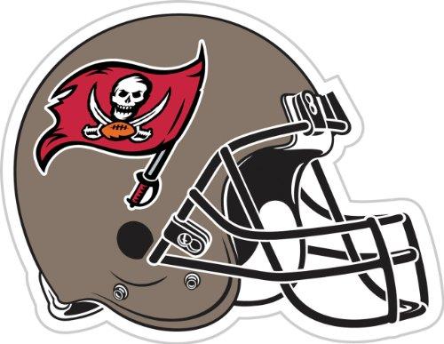 NFL Tampa Bay Buccaneers 12-Inch Vinyl Helmet Magnet
