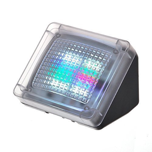 AGPTek® LED TV Simulator, Fernseh Attrappe-Fake, Einbruchschutz, Home Security, Lichtsensor und Timer, 3 Programme wählbar, 20 farbige LEDs thumbnail