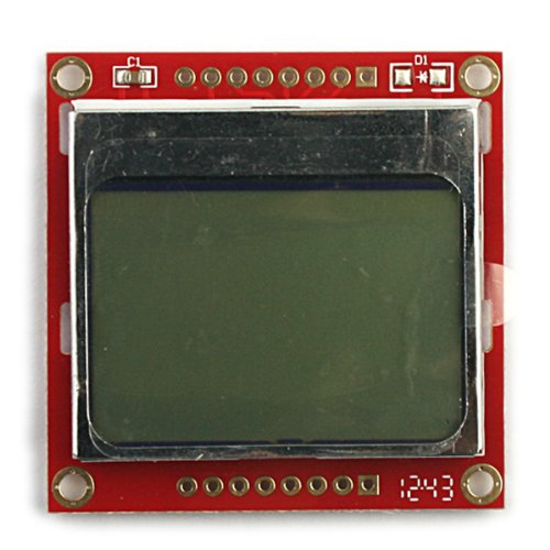 """Generic 1.6"""" Lcd Nokia 5110 Lcd Module Display Board With Blue Backlit For Arduino"""