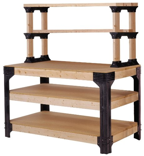 Images for 2x4basics 90164 Workbench and Shelving Storage System