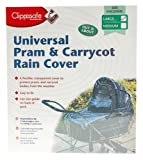 Clippasafe Universal Pram & Carrycot Rain Cover (Large)