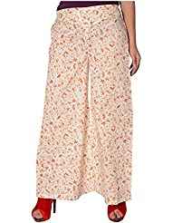 Dhaani Women's Cotton Loose Fit Palazzo