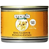 Addiction King Salmon & Potatoes Entrée - Grain-Free Canned Cat Food 24/6.5oz