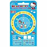 Hello Kitty Childrens Educational Learning to Tell the Time Fridge Magnet