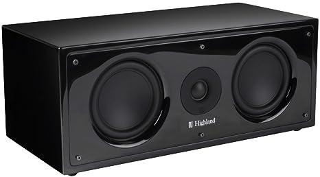 Highland Audio 3760108803671 Enceinte pour MP3 & Ipod Noir