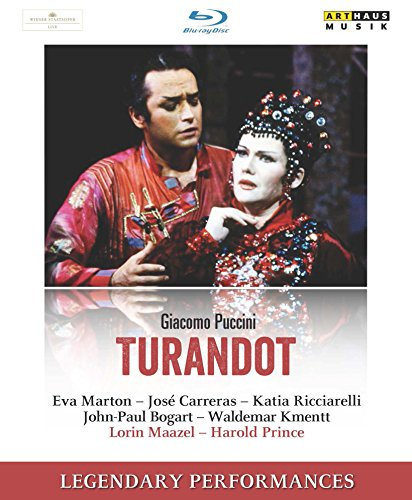 Giacomo Puccini: Turandot (Legendary Performances) [Blu-ray]