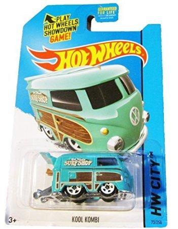 2015 Hot Wheels Hw City - Volkswagen Kool Kombi - 1