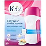 Veet Easy Wax Sensitive Electrical Roll-On Kit